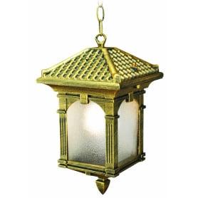 Подвесной светильник уличный Самурай 1xE27x60 Вт, цвет бронза, IP54