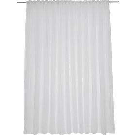 Тюль на ленте «Лиза» 300х280 см цвет белый