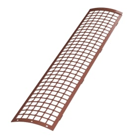Сетка для защиты желоба 0.61 м цвет красный