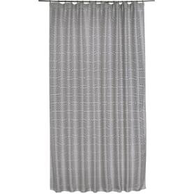 Штора на ленте «Джеом» 200х280 см цвет серый