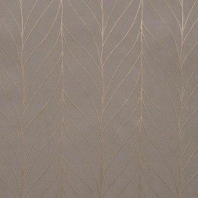 Штора на ленте «Брук» 200х280 см цвет серо-коричневый