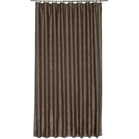 Штора на ленте «Васто» 200х280 см цвет шоколадный