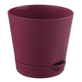 Горшок цветочный «Партер» D9, 0, 35л., пластик, Красный