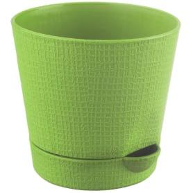 Горшок цветочный «Партер» D9, 0, 35л., пластик, Зеленый