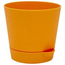 Горшок цветочный «Партер» D11, 0, 7л., пластик, Оранжевый / медный