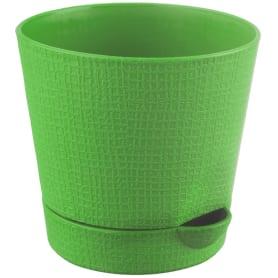 Горшок цветочный «Партер» зелёный 1.4 л 150 мм, пластик