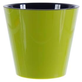 Горшок цветочный «Фиджи» D16, 1, 6л., пластик, Зеленый