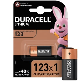 Батарейка литиевая Duracell CR123 ultra