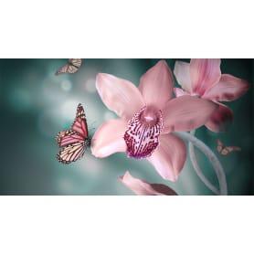 Фотообои флизелиновые «Орхидеи бабочки» 370х200 см