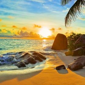 Фотообои флизелиновые «Дикий пляж» 200х200 см