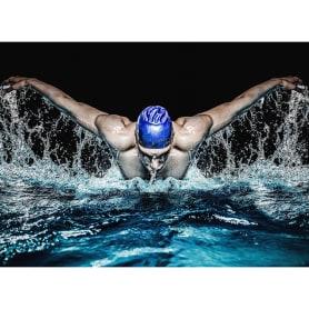 Фотообои флизелиновые «Пловец» 370х270 см