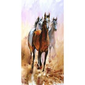 Фотообои флизелиновые «Лошади» 100х200 см