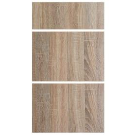 Двери для шкафа Delinia «Вереск» 40x15 см, ЛДСП, цвет бежевый, 3 шт.