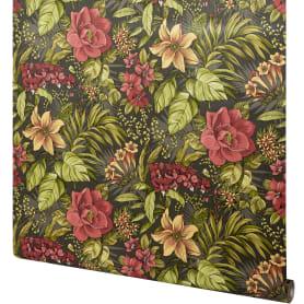 Обои флизелиновые Home Color Jungle Book чёрные 1.06 м 719-47