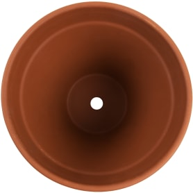 Горшок цветочный «Стандарт» терракот 5 л 230 мм, керамика