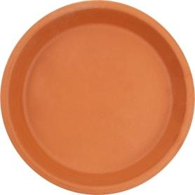 Поддон для горшка, 17 см, керамика, цвет терракотовый