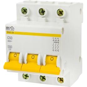 Выключатель автоматический IEK Home В А47-29 3 полюса 50 А
