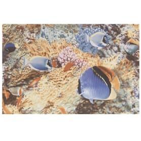 Панно «Reef» 40х60 см цвет синий