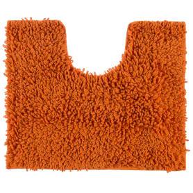 Коврик для туалета Crazy, 50x40 см, цвет оранжевый