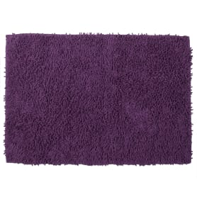 Коврик для ванной комнаты «Crazy» 50x70 см цвет фиолетовый