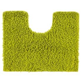 Коврик для туалета Crazy, 50x40 см, цвет зелёный
