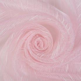 Тюль «Дождик» 1 п/м 280 см органза цвет розовый
