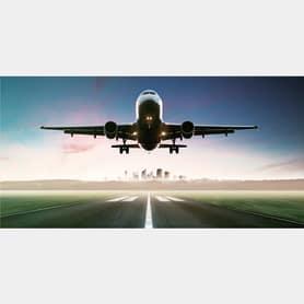 Фотообои флизелиновые «Самолет» 100х200 cм