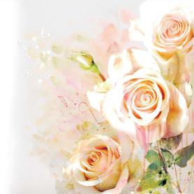 Фотообои флизелиновые «Розы» 200х200 cм