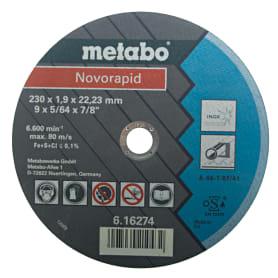 Круг отрезной по металлу Metabo, 230х1.9 мм