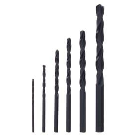 Набор свёрл по металлу HSS-R 6 шт. Metabo 627160000, 2-8 мм