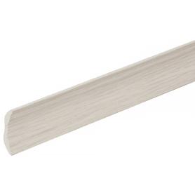 Галтель 20х20х2700 мм, ПВХ вспененный, цвет белое дерево