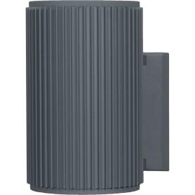 "Бра уличное Elektrostandard ""Techno"" 1404, 1xE27x60 Вт, цвет серый"