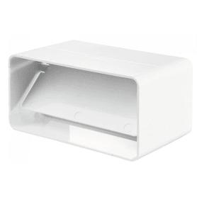 Соединитель плоских каналов c обратным клапаном 55х110 мм