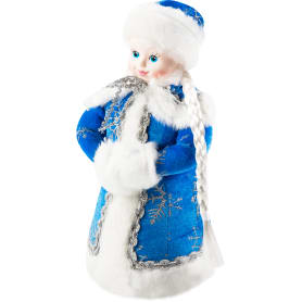 Игрушка под ёлку «Снегурочка» 35 см, цвет синий
