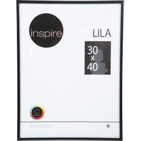 Рамка Inspire Lila 30x40 см цвет чёрный