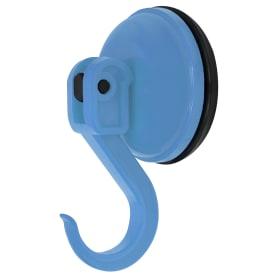Крючок «Funny» на присоске цвет голубой