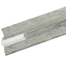 Плинтус напольный Artens ПВХ 65 мм 2.5 м цвет равенна