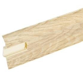 Плинтус напольный Artens ПВХ 65 мм 2.5 м цвет перуджа