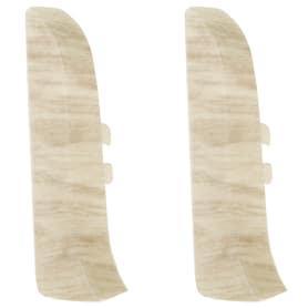 Заглушка для плинтуса левая и правая Artens «Ареццо» 65 мм 2 шт.