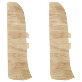 Заглушка для плинтуса левая и правая Artens «Ливорно» 65 мм 2 шт.