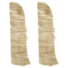 Заглушка для плинтуса левая и правая Artens «Перуджа» 65 мм 2 шт.