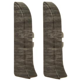 Заглушка для плинтуса левая и правая Artens «Солерно» 65 мм 2 шт.