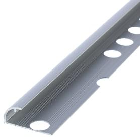 Профиль наружный 0.9x270 см цвет серебро