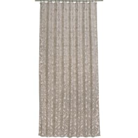 Штора на ленте «Уют» 160х260 см шенилл цвет бежевый