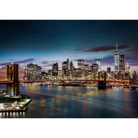 Фотообои бумажные «Ночной Нью-Йорк» 368x254 см