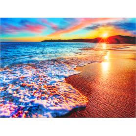 Картина на стекле 47х64 см «Море в закате»