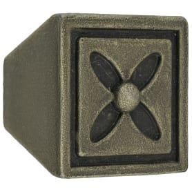 Ручка-кнопка Kerron RK-082-OAB цвет оксидированная бронза