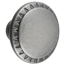 Ручка-кнопка Kerron цвет чернёный старинный цинк