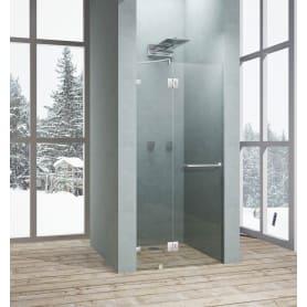 Дверь душевая распашная Классика 90 см