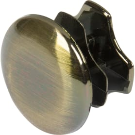 Заглушка рейлинга Delinia D=1.6 см, бронза, 2 шт